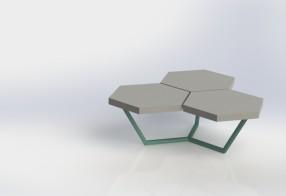 Table basse 'Trexa'