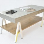 table basse béton chêne_limited05