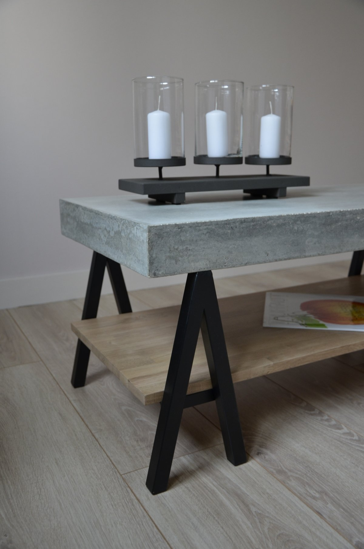 Table basse beton cire maison du monde - Du bout du monde table basse ...