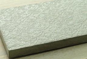 Dessous de plat béton baroque